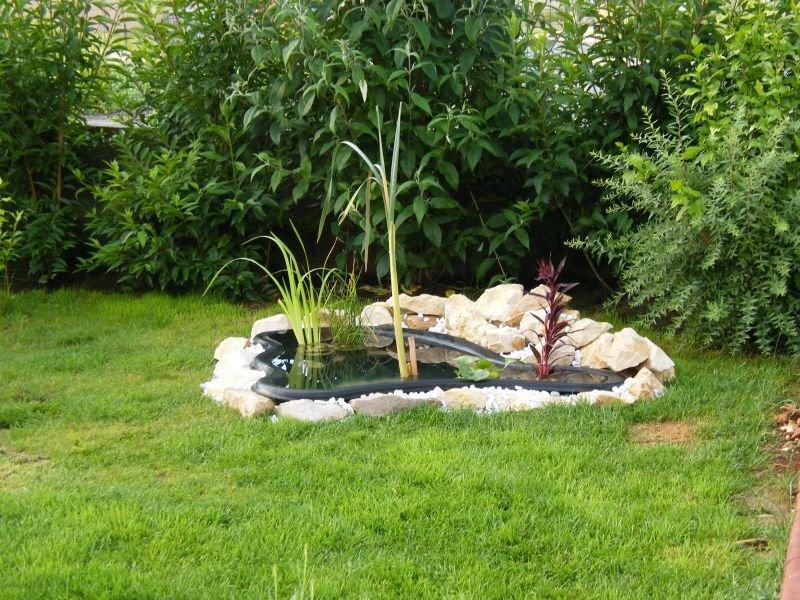 Bassin pour petit jardin d coration de jardin avec une - Bassin pour petit jardin ...